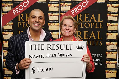 Evening With Aaron - Results - $40,000.00