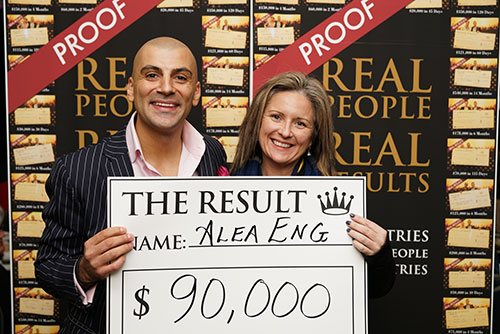 Evening With Aaron - Results - $90,000.00