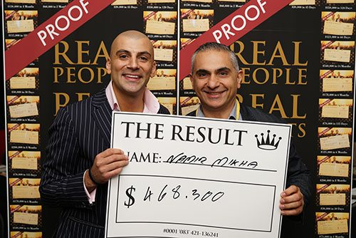 Evening With Aaron - Results - $468,000.00